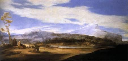 Jusepe de Ribera: Pejzaż z pasterzami