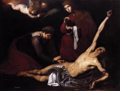 Jusepe de Ribera: Święty Sebastian