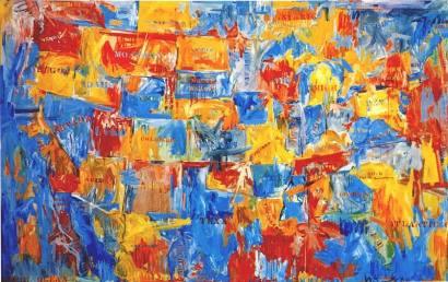 Jasper Johns: Mapa