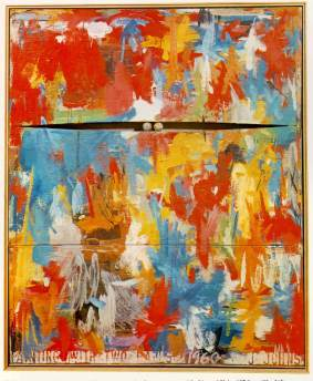 Jasper Johns: Painting with two balls